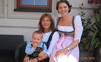 3 generations in the Hotel Feldwebel
