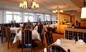 Restaurant in Hotel Feldwebel