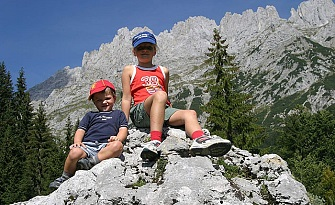 Hiking at the Wilden Kaiser