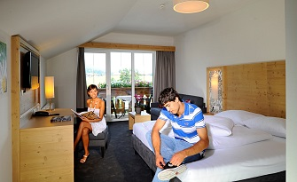 Panoramic Double Rooms in the Hotel Feldwebel